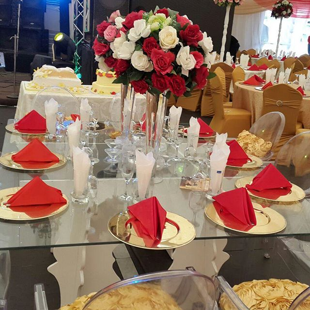1000 seater banquet setting at our event center