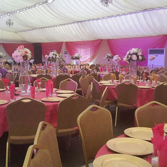 Wedding Reception hall our event center at Ikeja